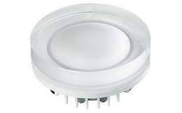 Светильник LTD-80R-Crystal-Roll 5W Warm White